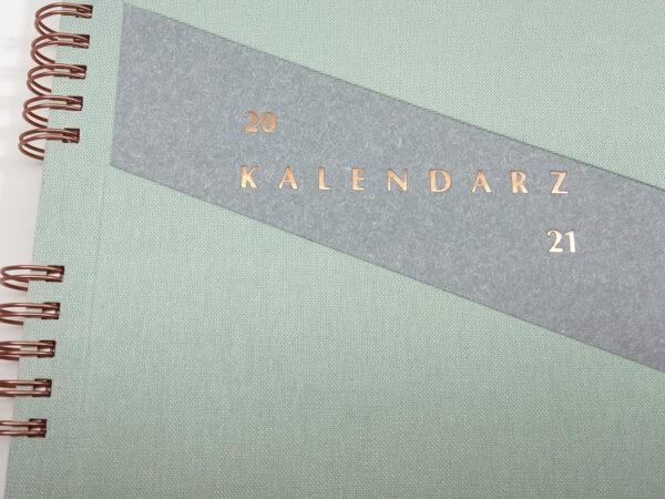 Kołokalendarz 2021 - mięta tłoczenie