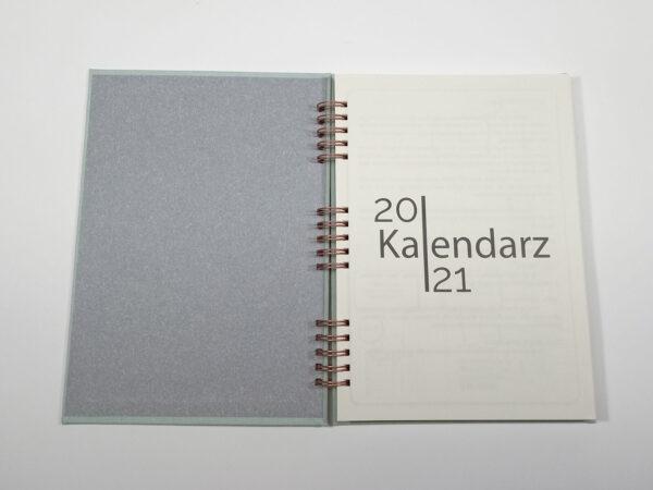 Kołokalendarz 2021 - mięta otwarty