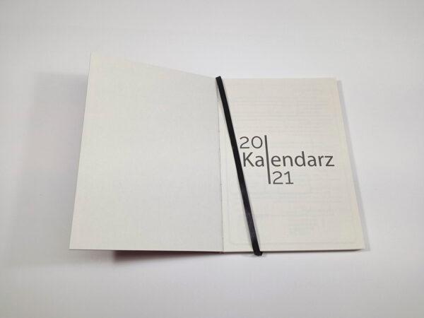 Kalendarz 2021 - szyty otwarty