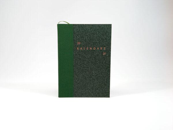 Kalendarz 2021 - zielony